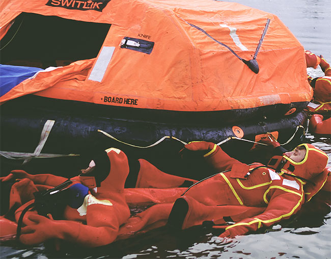 Life raft sales and service